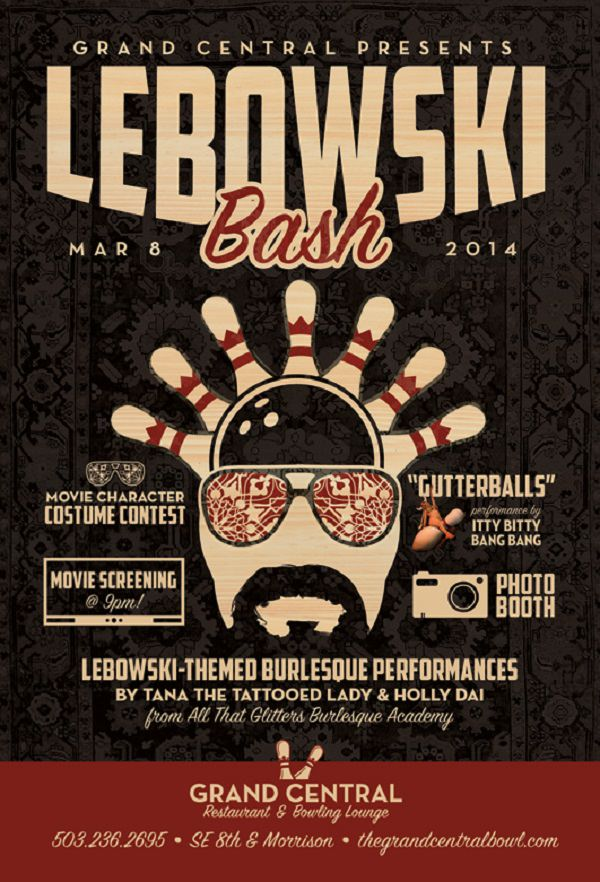 Lebowski Bash @ Grand Central