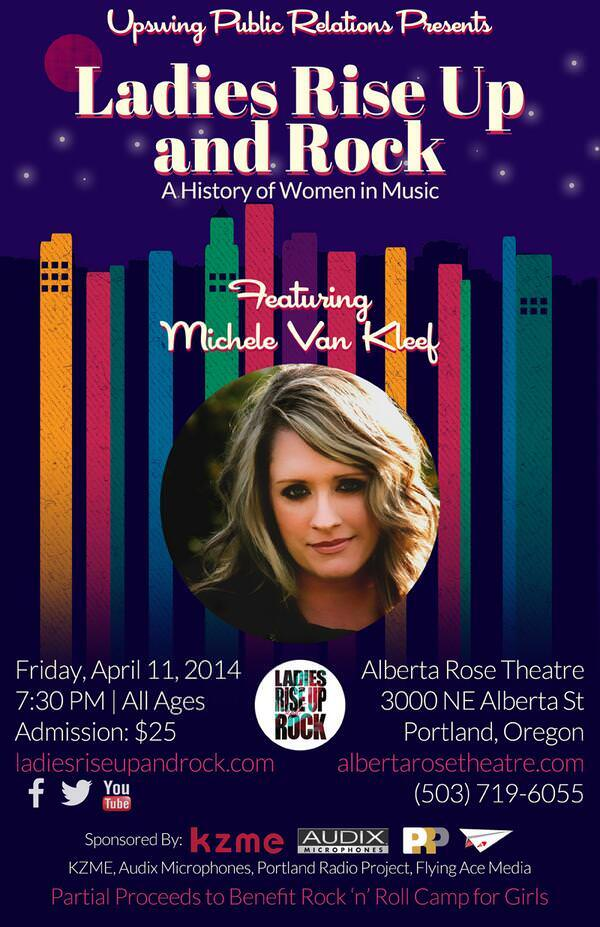 Ladies Rise Up and Rock @ Alberta Rose Theatre