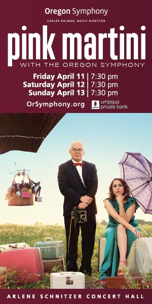 Pink Martini with the Oregon Symphony @ Arlene Schnitzer Concert Hall