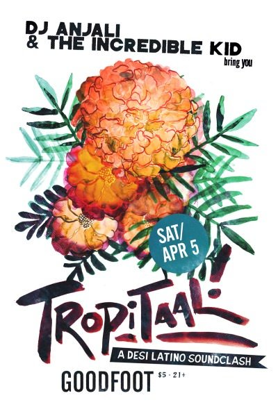 TROPITAAL Goodfoot April