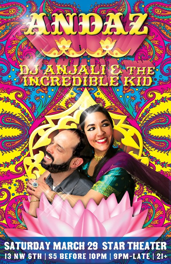 ANDAZ: A Bhangra/Bollywood/Urban Desi Dance Party