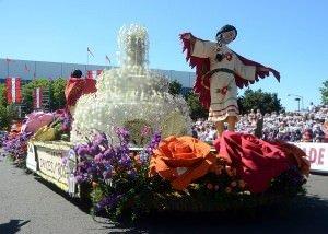 2014 Portland Rose Festival Grand Floral Parade Schedule