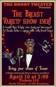 Breast Variety Show Fundraiser
