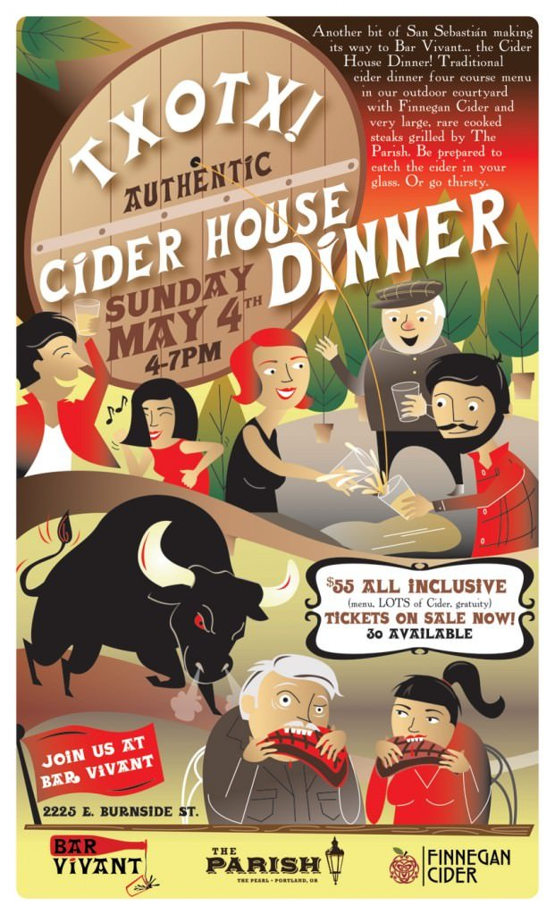 Cider House Dinner @ Pix Patisserie