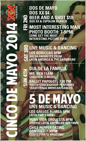 Cinco de Mayo @ Santa Fe Taqueria