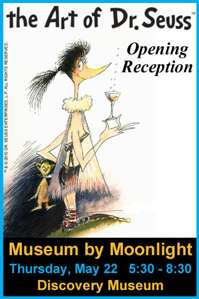 Museum by Moonlight @ World Forestry Center Discovery Museum | A Special Preview Night of The Art of Dr. Seuss Exhibit, Drinks, Hors d'oeuvres