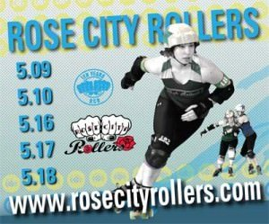 Rose City Rollers @ Oaks Park May 2014