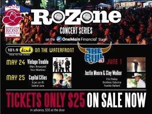Rose Festival RoZone 2014