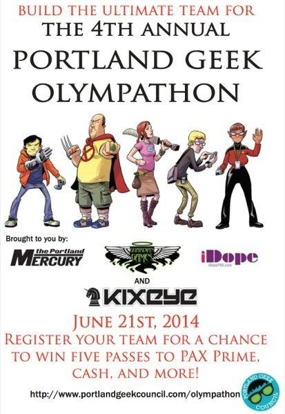 2014 Portland Geek Olypathon
