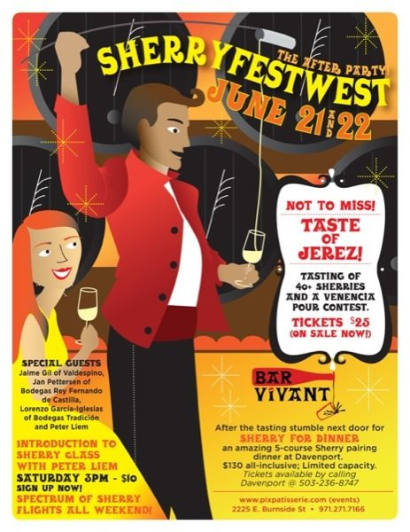 SherryfestWest – The After-Party! @ Bar Vivant
