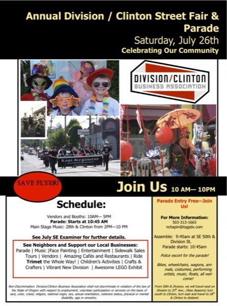 2014 Division/Clinton Street Fair