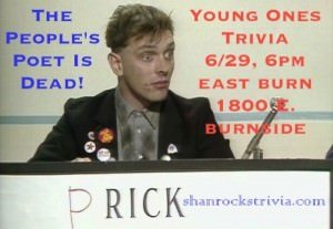 People's Poet Trivia @ EastBurn