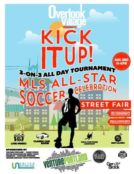 Kick it up: Overlook Village Soccer Celebration and Street Fair