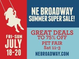 NE Broadway Sale