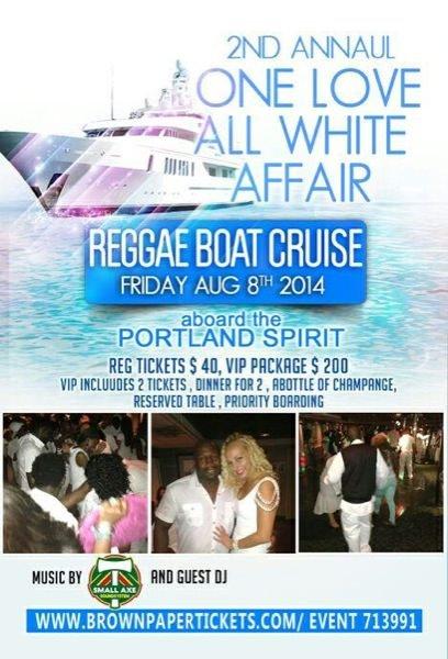 One Love Reggae Cruise August 2014