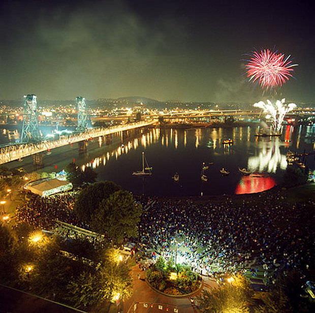 Portland labor day weekend oregon symphony concert waterfront park