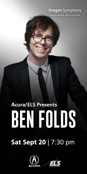 Ben Folds @ Arlene Schnitzer Concert Hall