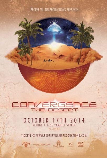 Convergence: The Desert @ Refuge PDX
