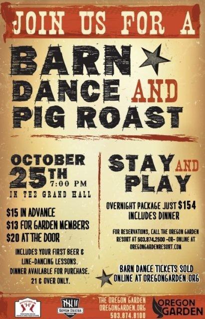 Oregon Garden Barn Dance