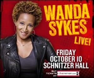 Wanda Sykes @ Arlene Schnitzer Concert Hall