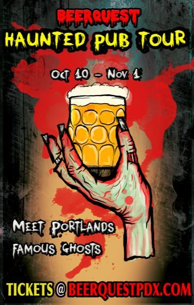 BeerQuest PDX Haunted Halloween Pub Crawl