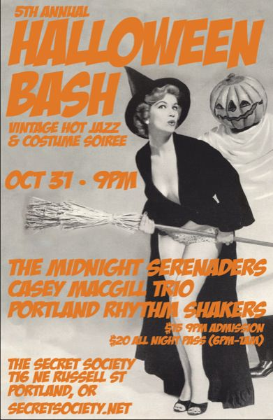 THE MIDNIGHT SERENADERS 5TH ANNUAL HALLOWEEN BASH