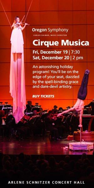 Cirque Musica Arlene Schnitzer Concert Hall DareDevil Artistry - Arlene schnitzer concert hall portland oregon