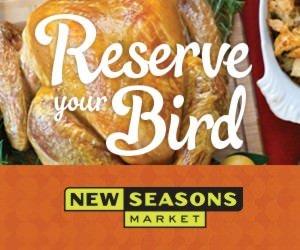 Thanksgiving Turkey @ New Seasons