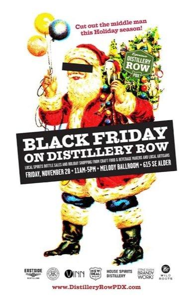 Black Friday On Distillery Row