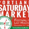 Portland Saturday Market Festival of the Last Minute