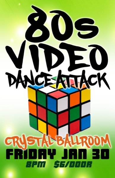 80s Video Dance Attack