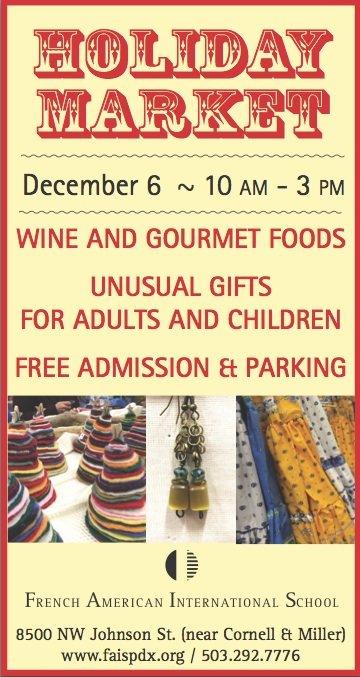 2014 portland christmas holiday market french american for Holiday craft fairs portland oregon