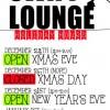 Swift Lounge Holiday Hours