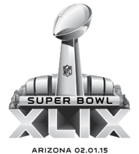 2015 Super Bowl logo