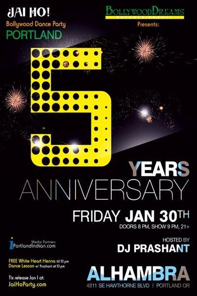 Jai Ho! Five Years Anniversary