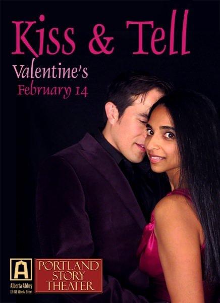 2015 Portland Valentineu0027s Day Portland Story Theater: Kiss U0026 Tell | Alberta  Abbey