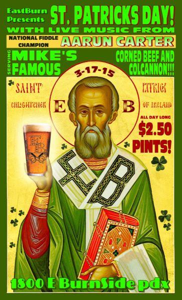 Portland St. Patrick's Day Weekend @ The EastBurn