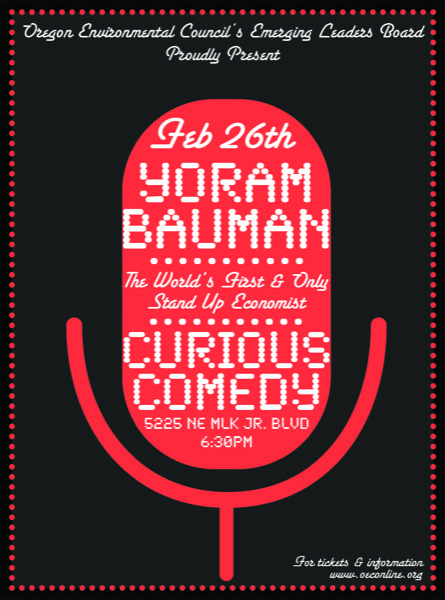 Yoram Bauman at Curious Comedy