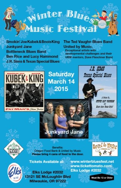 Winter blues fest