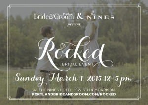 ROCKED: Portland's only couture bridal event