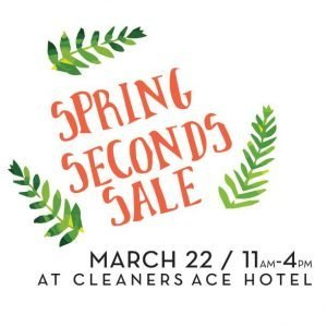Spring Seconds Sale