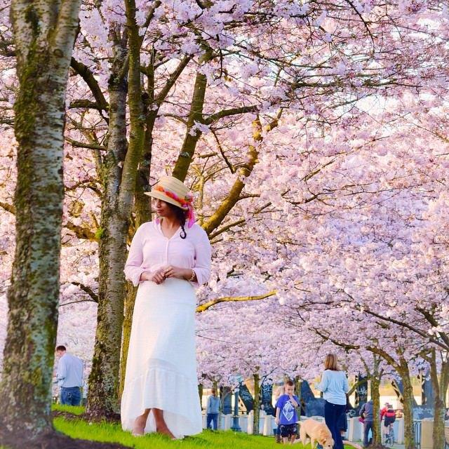 Spring Flowers in Portland