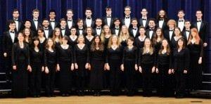 Lewis & Clark college Cappella Nova choir.