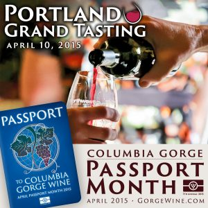 Columbia Gorge Wine Passport Month