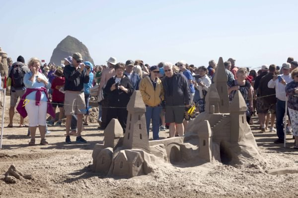 Cannon Beach Sandcastle Contest
