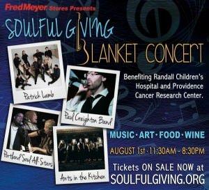 Soulful Giving Blanket Concert