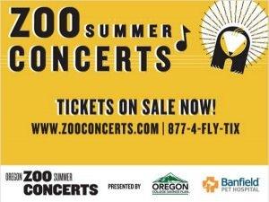 Oregon Zoo Summer Concerts 2015