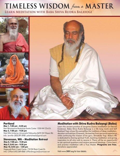 Meditation with Shiva Rudra Balayogi