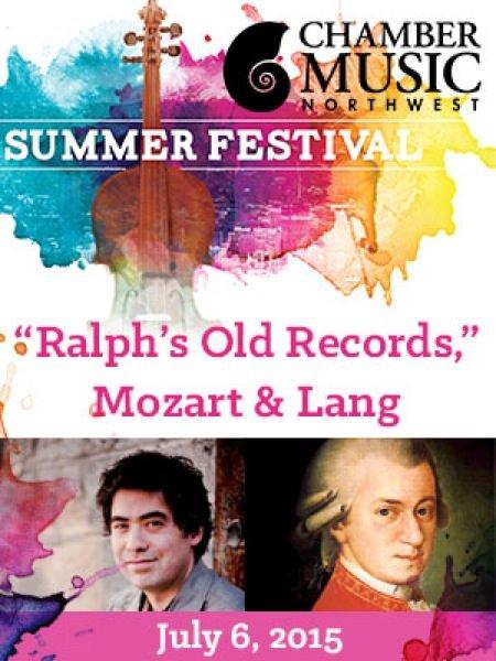 """""""Ralph's Old Records,"""" Mozart & Lang @ Kaul Auditorium,"""