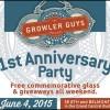 The Growler Guys Anniversary